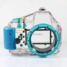 40M 130ft Underwater Diving Waterproof Housing Case for Sony NEX-5 Camera 16mm