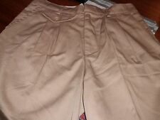 Girls Khaki Omega Plus Size Cotton Blend Solid School Uniform Shorts