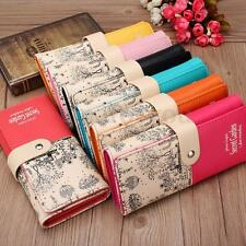 Womens Ladies Girls PU Leather Card Holder Long Purse Wallet Clutch Handbag Hot