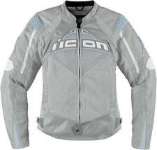 Icon Women's Contra Textile Jacket - Silver