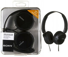 SALE! NEW Genuine Headphones Sony MDR-ZX110(BLACK) Dynamic Foldable.Over the Ear
