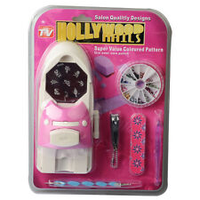 Hollywood Nails All in One Professional Nail Art System Kit Set As Seen On TV