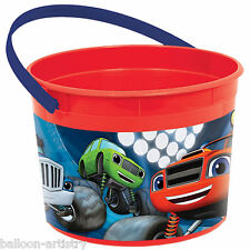 3 Blaze & The Monster Machines Children's Party Loot Gift Favour Pots Containers