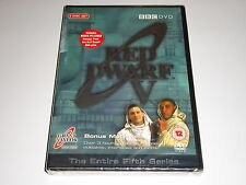 Red Dwarf V - The Complete Fifth Series 5 - NEW / SEALED DVD SET 5th Season Five