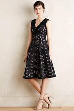 NEW Anthropologie Moulinette Soeurs Lasercut Corsage Dress Size 2P