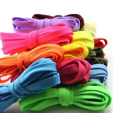 Brand New Pair Of Flat Coloured Shoe laces Colour shoe laces BUY 2 GET 3 FREE