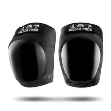 187 Killer Pro Knee Pads - Black/Black