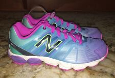 NEW Preschool Girls 1.5 6 NEW BALANCE 890V5 Blue Purple Running Shoes Sneakers