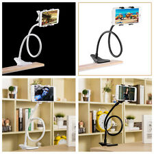 Universal Lazy Bed Desktop Car Stand Mount Holder For Cell Phone Long Arm PY