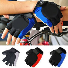 Cycling Gloves Bicycle Motorcycle Sports Gel Half Finger Gloves S- XL Breathable