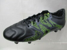 ADIDAS X 15.2 FG/AG LEATHER MENS FOOTBALL BOOTS BRAND NEW SIZE UK 8 (CQ7)