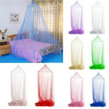 Elegant Round Lace Insect Canopy Netting Curtain Bed Outdoor Dome Mosquito Nets