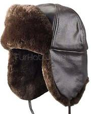 Sheared Beaver Trapper Hat -Brand: FRR -Made in Canada