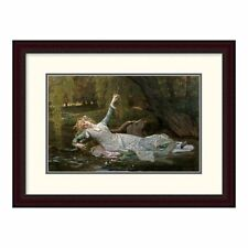 Global Gallery 'Ophelia' by Alexandre Cabanel Framed Painting Print