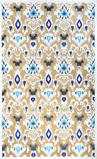 nuLOOM Ikat Charlotte Machine Made Tan Outdoor Area Rug