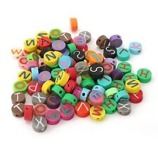 100PCS WHOLESALE MIXED ASSORTED MULTICOLOR CLAY/FIMO BEADS DIY TOOLS