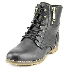 Tommy Hilfiger Minny Women  Round Toe Leather Black Ankle Boot