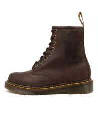 New Dr. Martens 1460 8 Up Boot Gaucho Crazy Horse Women Shoes Boots Ankle Boots