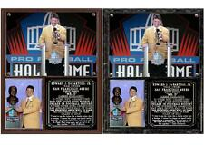 Eddie DeBartolo Jr. Enshrined in the Pro Football Hall of Fame Photo Plaque