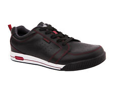 Niblick Mens Golf Shoes Noosa Black/Maroon NIBLICK