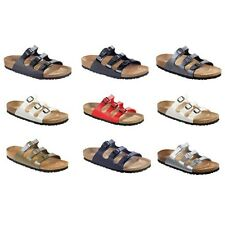 Birkenstock Florida Birko-Flor sandals - white blue black brown Made in Germany
