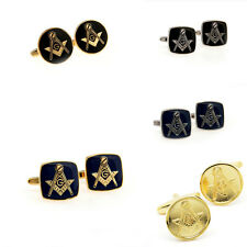 The New Masonic Cufflinks For Mens Shirt Cuff Links Lot Wedding Groom Gift