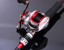 11BB Baitcasting Fishing Reel Magnetic Right Left Handed Baitcaster Lure Tackle