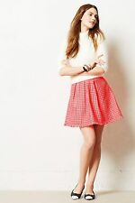 NIP Anthropologie Coquelicot Skirt by Yoana Baraschi, MP, LP, Pink, Was $148