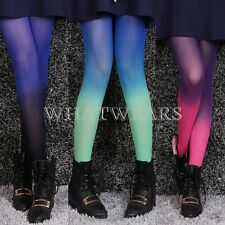 Sexy Fashion Womens Cute Gradient Print Pantyhose Tights Stockings #YQ
