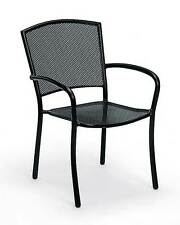 Rust-Proof Wrought Iron Arm Chair - Albion-Set of 4 [ID 370559]