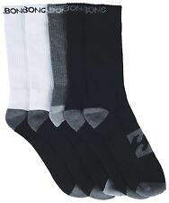 Billabong Tonal Sports Sock - 5 Pack (x 2) - RRP 39.98