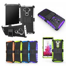 Hybrid Rugged Shockproof Impact Stand Case Cover Skin With Kickstand For LG