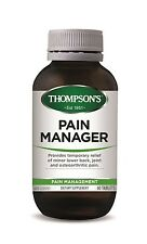 THOMPSON'S - PAIN MANAGER - BOTH SIZES - RELIEVE PAIN NATURALLY + FREE SAMPLE