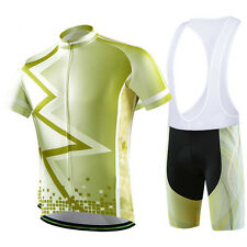 MTB Jersey Set Bicycle Cycling Jacket Bike Top & Cycle Short Bib Pants / Shorts