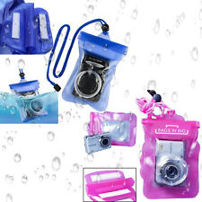 Water Proof Resistent Cover Bag Swimming for Digital Camera Sony Canon Nikon