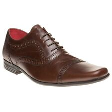 New Mens Red Tape Brown Branston Leather Shoes Lace Up