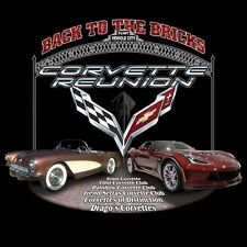2016 Corvette Reunion @ BACK TO THE BRICKS Ladies' T Shirt *4 COLORS* SIZES S-L