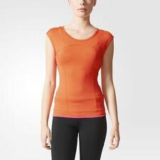 Adidas Stella McCartney Women's Perfect Tee Orange AA8625