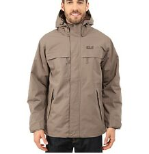 Jack Wolfskin Men's North Country Jacket     Siltstone       MSRP $219.95