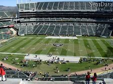 (2) AILSE-35YdLn-ROW 2 Tickets SEATTLE SEAHAWKS@OAKLAND RAIDERS-VIEW!! SOLD OUT!
