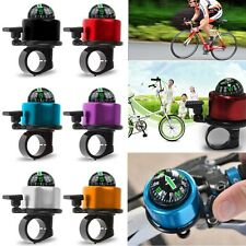 MTB Bike Cycling BMX Handlebar Compass Metal Ring-down Horn Bicycle Bell 6 Color