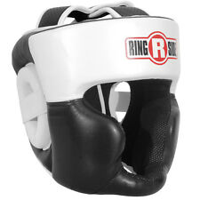Ringside Full Face Sparring Boxing Headgear - White/Black