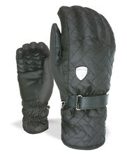 Level Gloves Cher Snowboard gloves black Membra-Therm