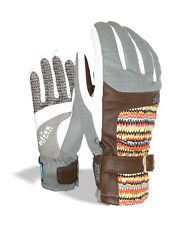 Level Gloves Snowboard gloves Bliss Gem grey insulating