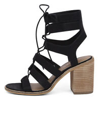 New Therapy Thorin Black Women Shoes Sandals Heels Heeled Sandals