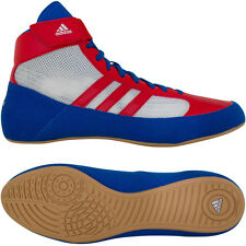 Adidas HVC Laced Youth Wrestling Shoes - Blue/Red/White