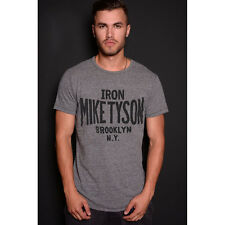 Roots of Fight Iron Mike Tyson T-Shirt - Triblend Gray