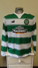 Celtic Home Football Shirt Jersey 2015-2016 Small Long Sleeve