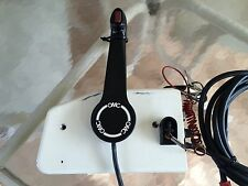 Johnson/ Evinrude side mount control box with trim and large red plug
