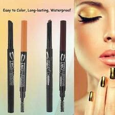 HengFang New Automatic Makeup Eyebrow Pencil with Eyebrow Brush Durable H4Y7